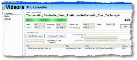 videora ipod convertor