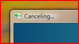 cancelling