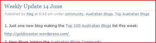 top100 blogs goldcoaster