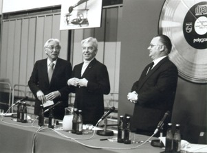 Philips and Sony set up a joint taskforce for CD 1979