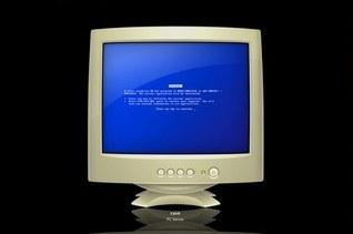 osx blue screen