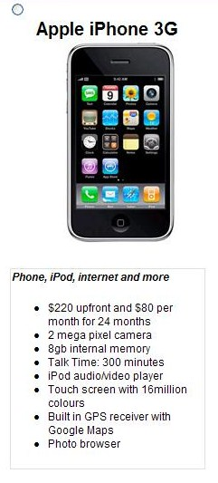 iphone plans in australia