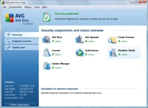 free antivirus review AVG Free