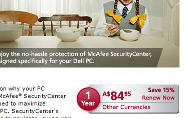 mcafee antivirus renew is more than new price