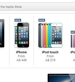 false advertising on apple store for iphone and ipod touch